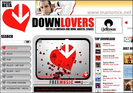 Downlovers Home Page