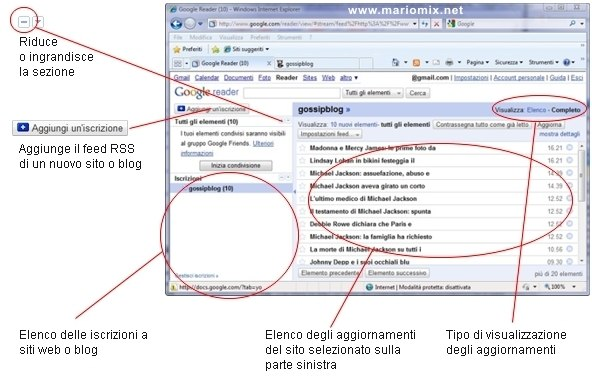 Google Reader: riepilogo