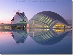 Valencia - L'Emisferico e il Palazzo delle Arti