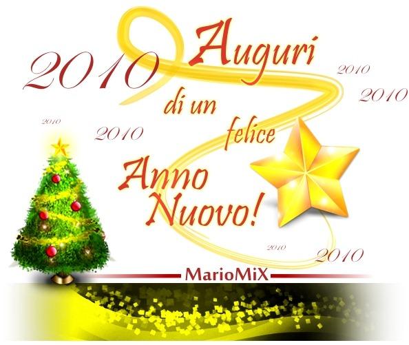 Auguri di un felice anno nuovo!
